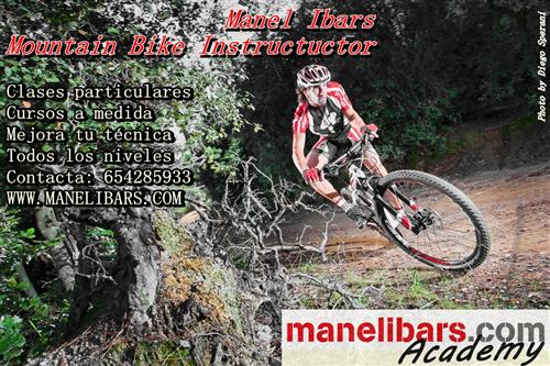 MTB Instructor Manel Ibars bikelaclau