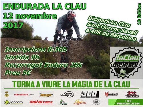 cartell enduro LaClau2017 (Custom)